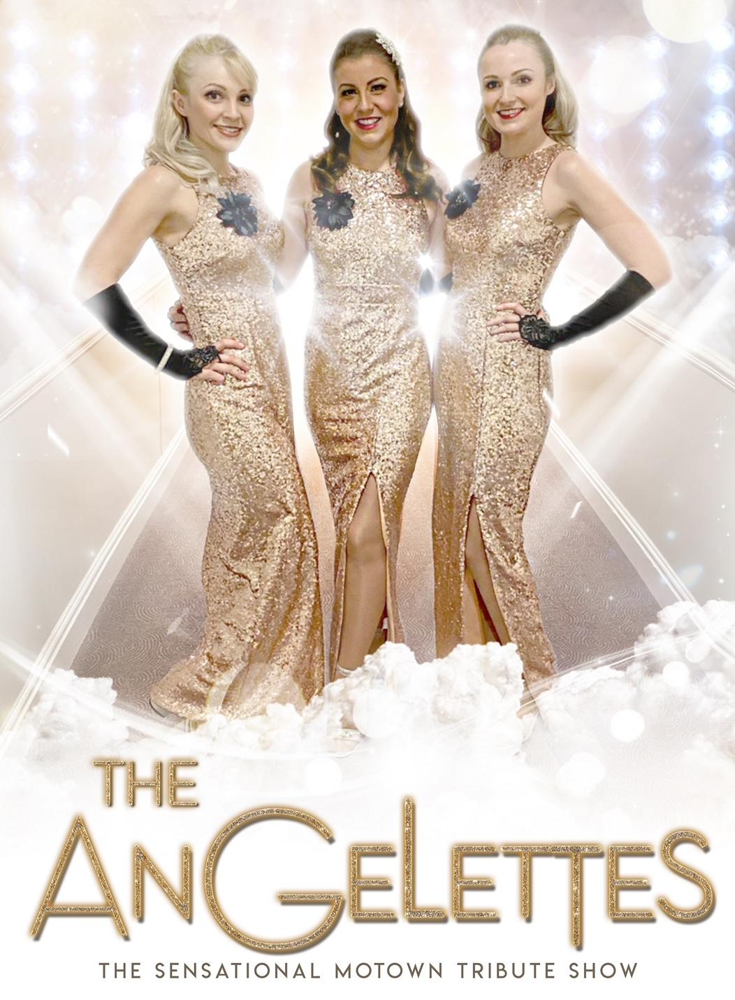 The Angelettes Ladies of Motown.