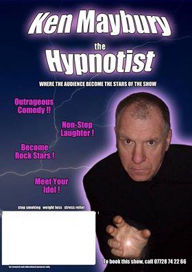 Ken Maybury Hypnotist OVER 18 X RATED